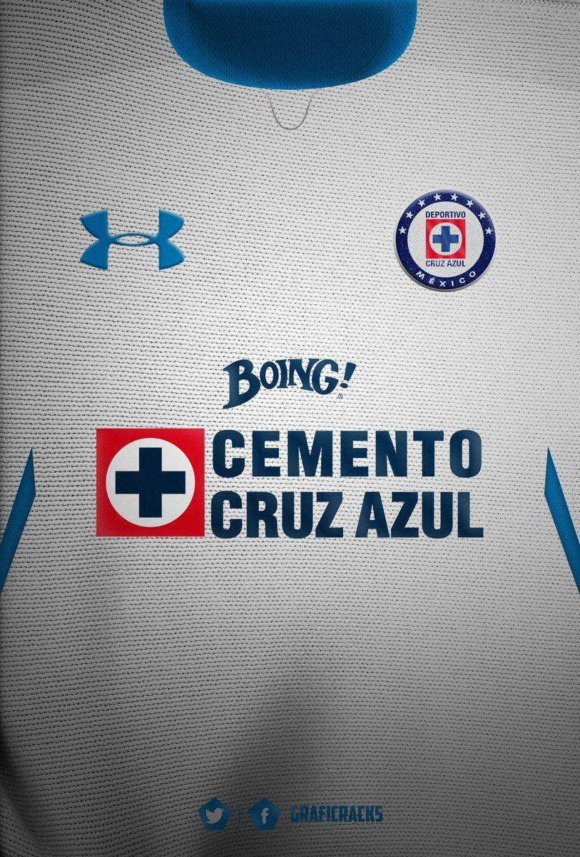 GrafiCrack on Twitter: Cruz Azul Jersey Visita