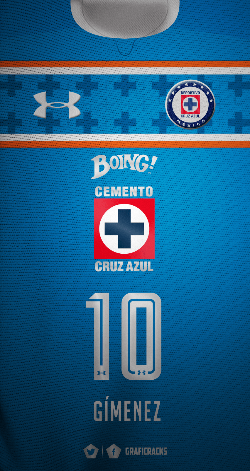 GrafiCrack on Twitter: Cruz Azul Local Chaco Gímenez