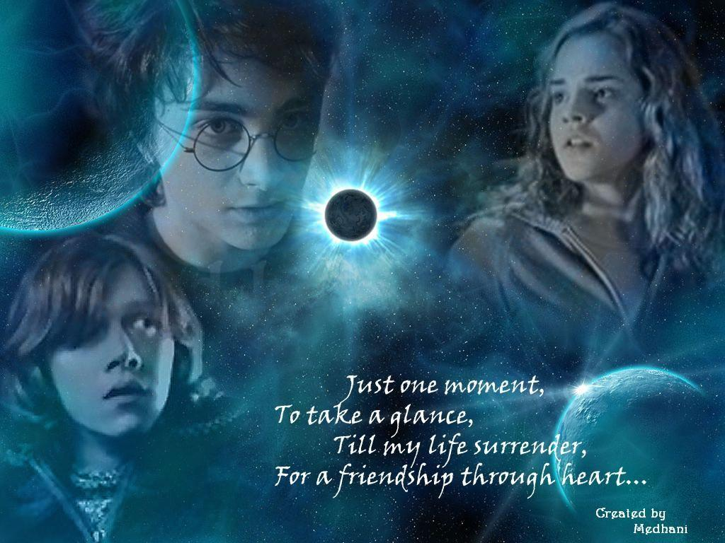 Harry Potter Quote About Friendship Harry Potter Quotes Wallpapers  Wallpaper Cave