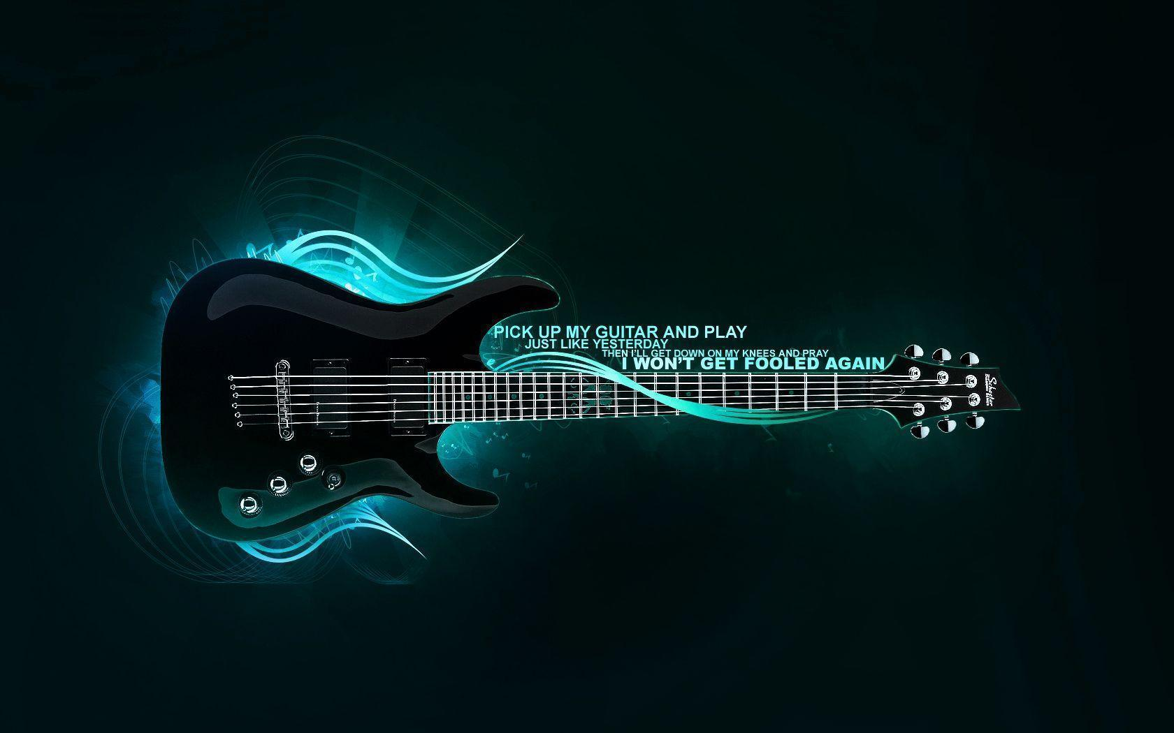 706 Guitar HD Wallpapers | Background Images - Wallpaper Abyss