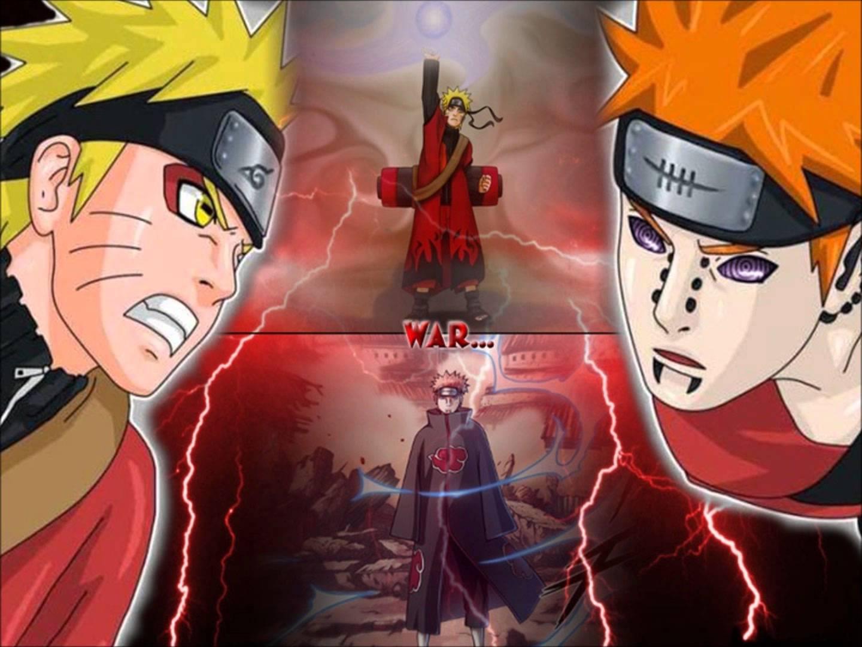 Naruto Vs Pain Theme Song And Wallpaper Keisei Gyakuten You