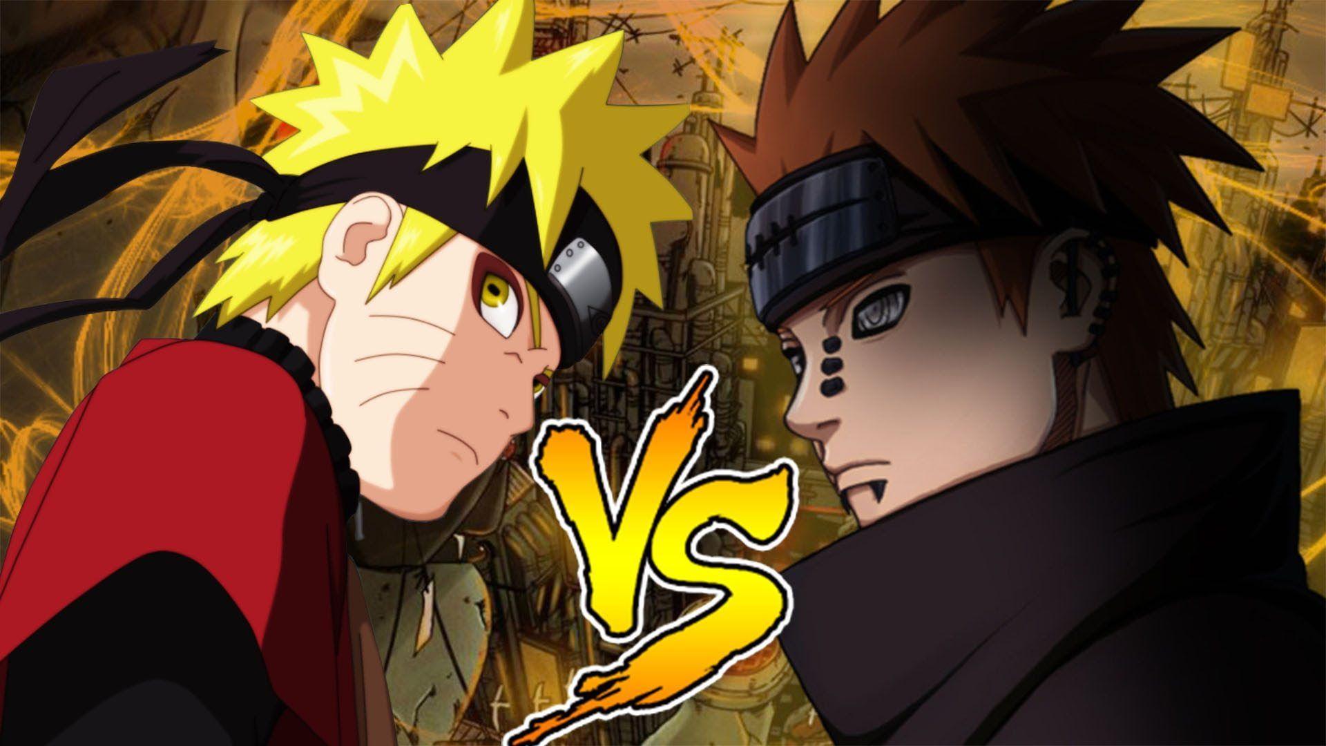 Pain Vs Naruto