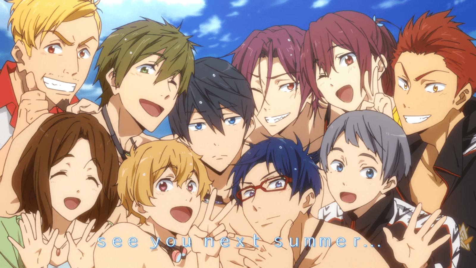iwatobi swim club wallpaper - photo #2
