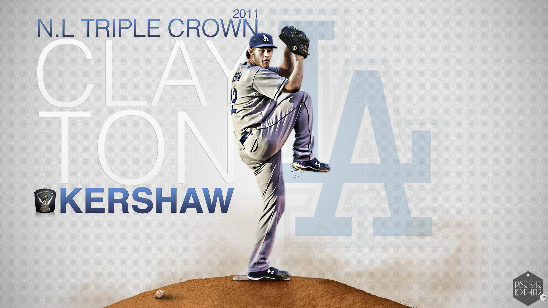 Clayton Kershaw HD Wallpapers by Chadski51