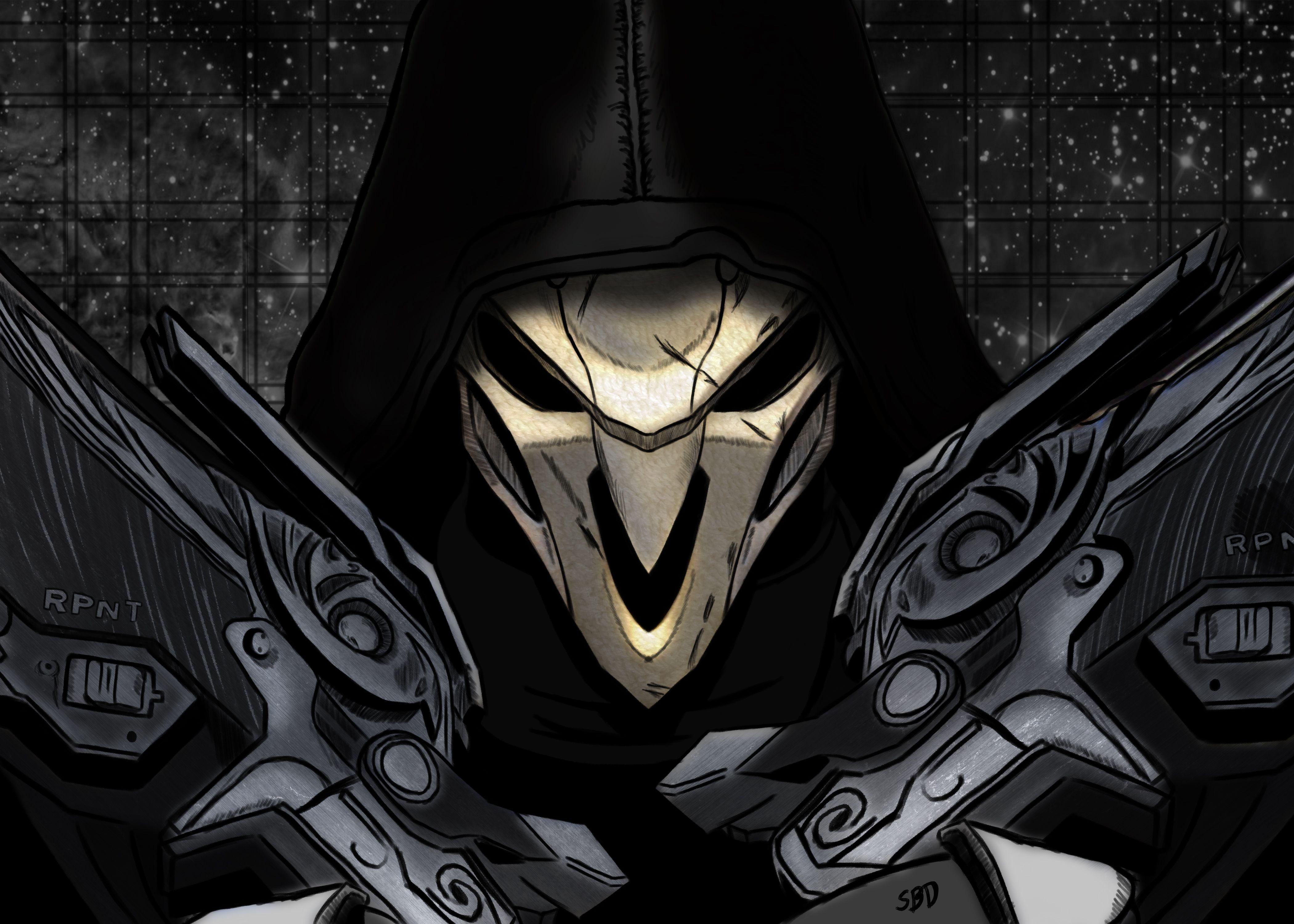 Reaper Overwatch Wallpapers - Wallpaper Cave
