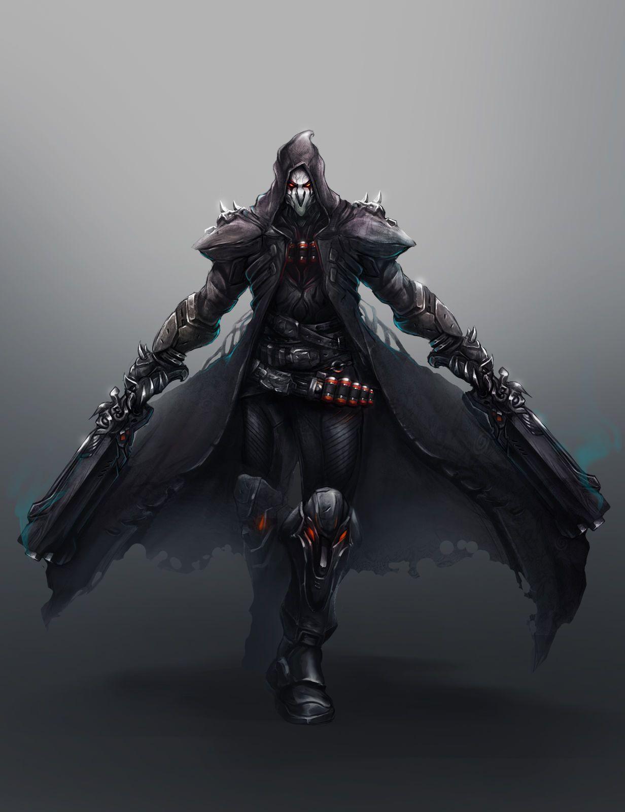 Reaper Overwatch Wallpapers Wallpaper Cave
