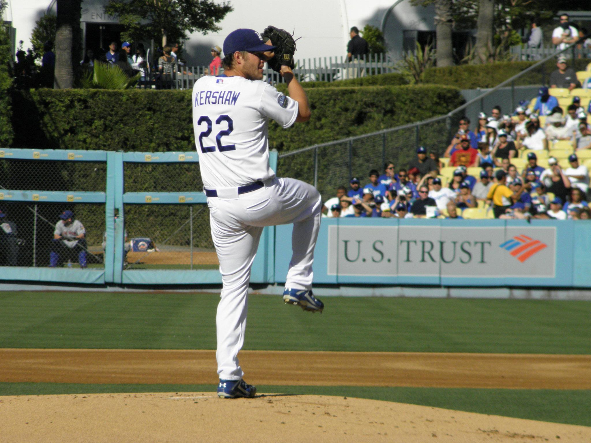 LA Dodgers Clayton Kershaw No