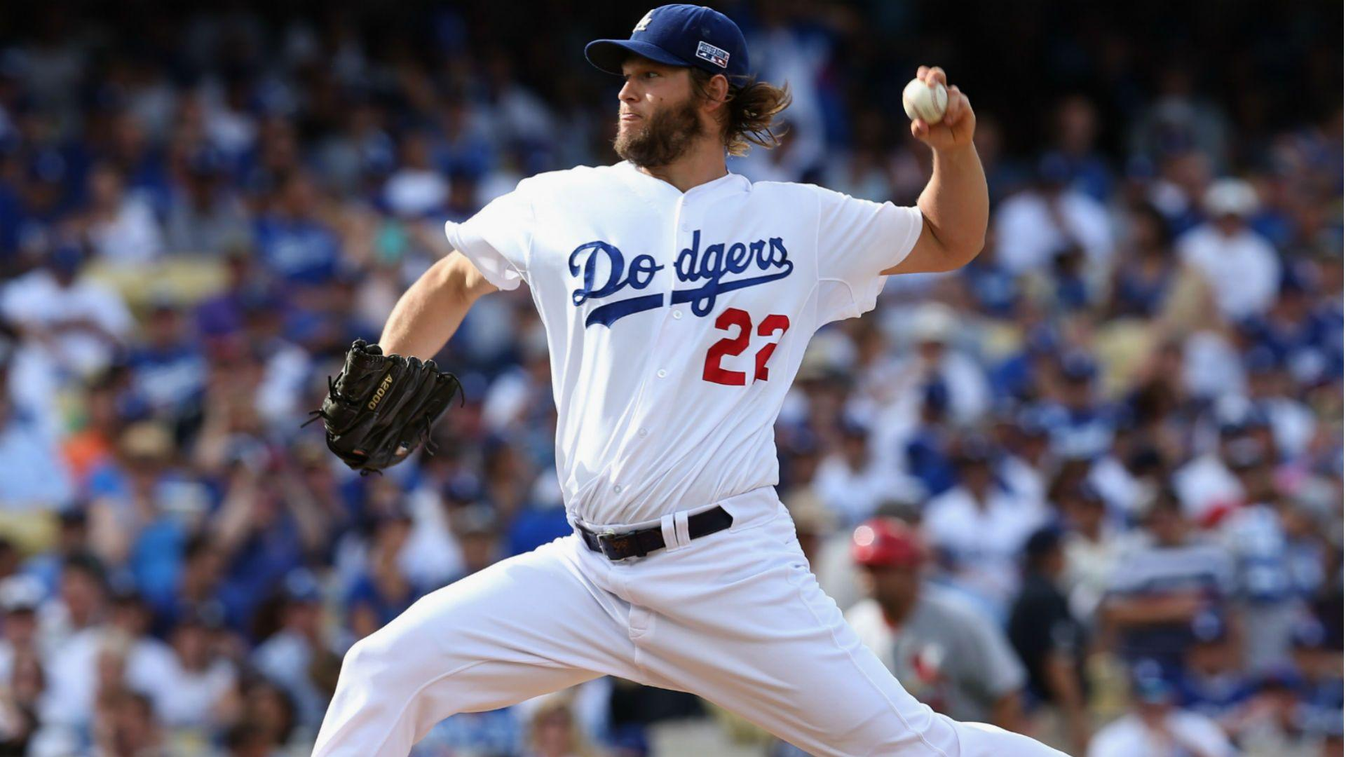 Clayton Kershaw replaces Max Scherzer on NL All