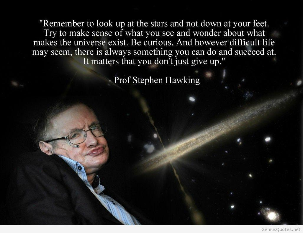 Ten quotes from Stephen Hawking