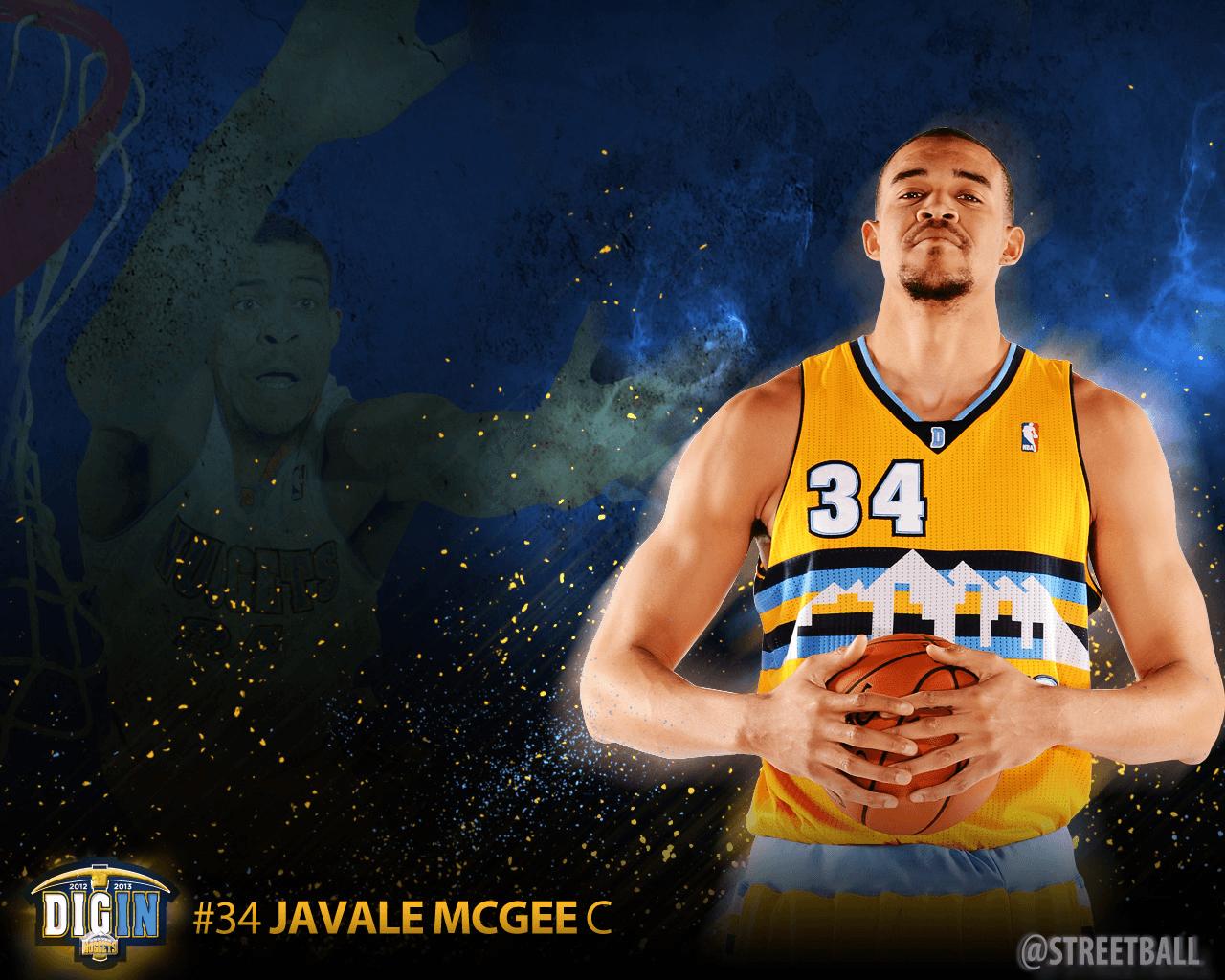 javale mcgee | JaVale McGee Denver Nuggets Wallpaper | Javale ...
