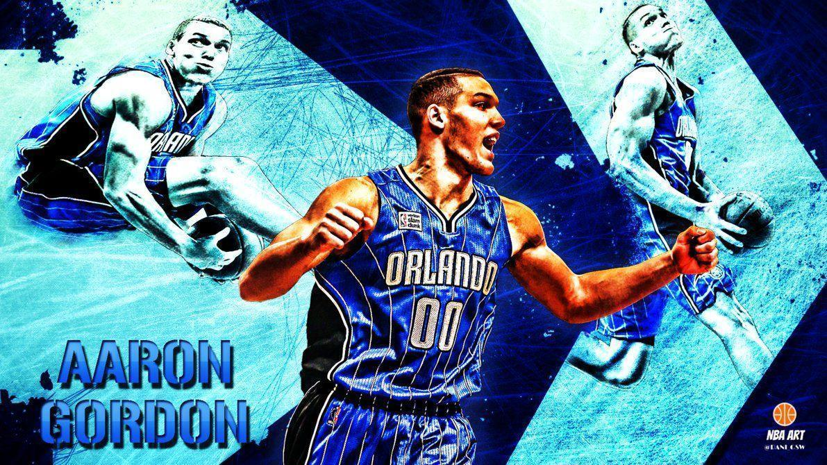 Aaron Gordon 1920x1080 by NBAART on DeviantArt