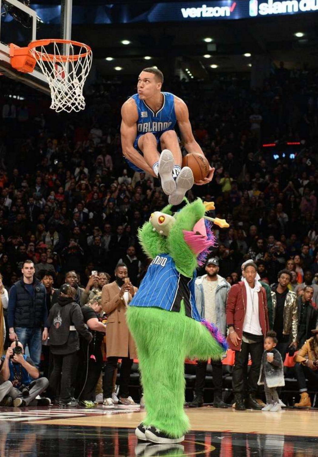 Aaron Gordon 2016 Slam Dunk Contest. Best dunk ever. Wow | NBA ...