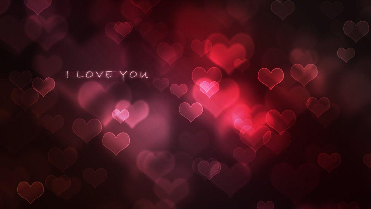 I Love You Wallpaper by Perbear42 on DeviantArt