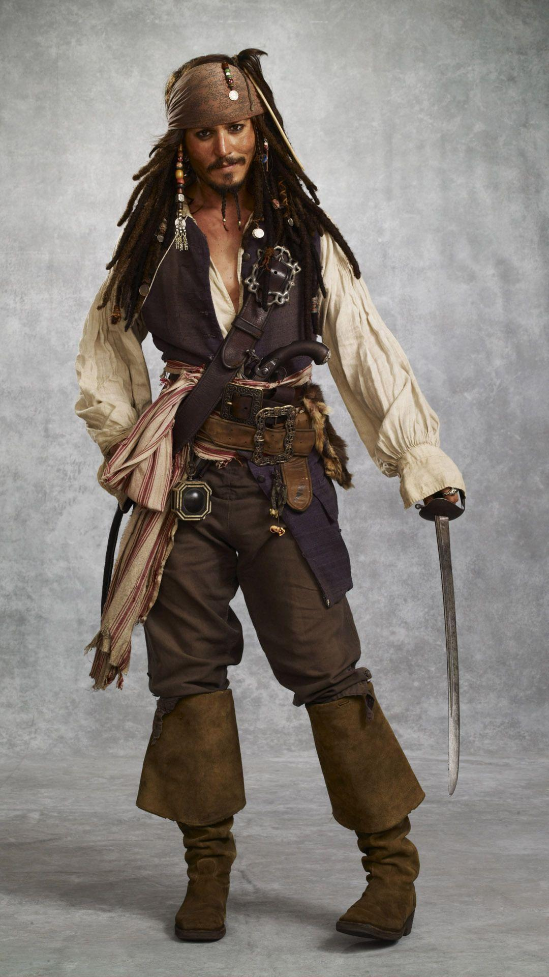 Captain Jack Sparrow Mobile Wallpaper 9110