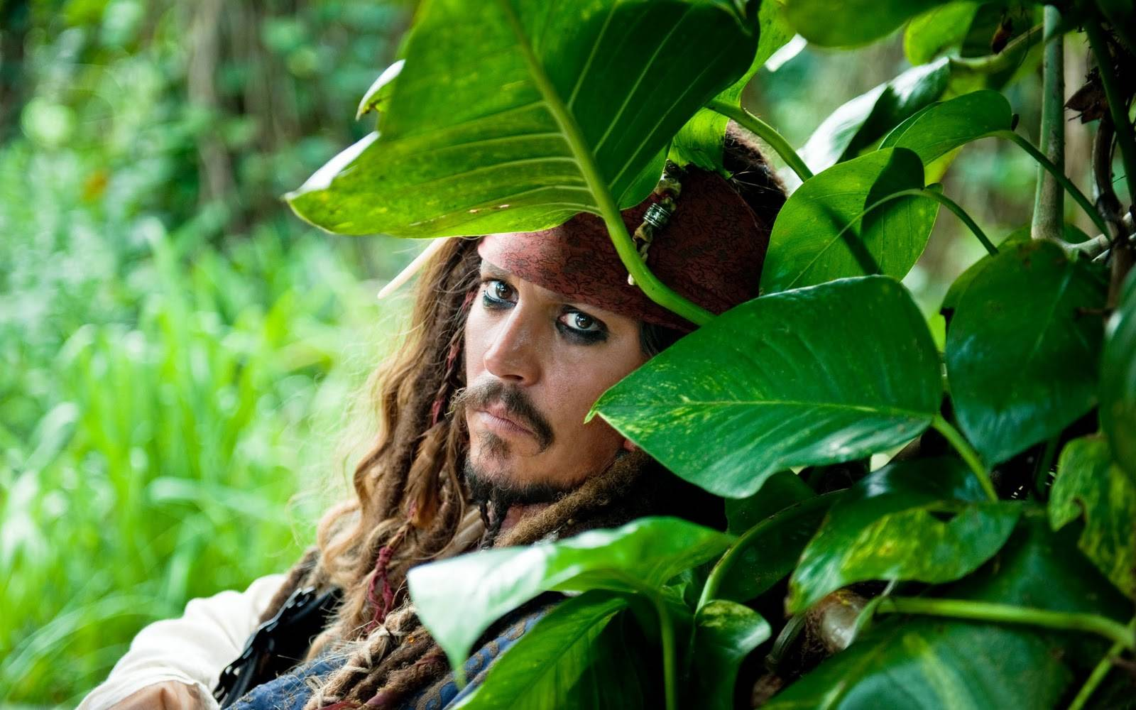Captain Jack in the jungle - Captain Jack Sparrow Wallpaper