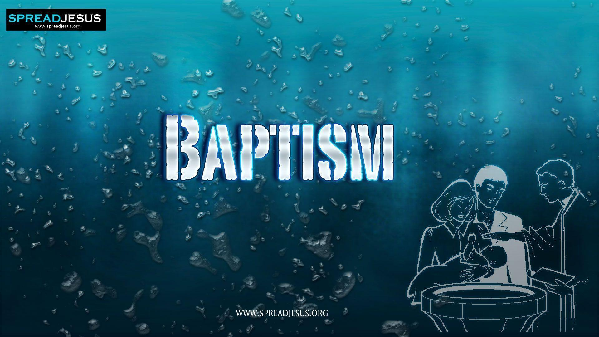Baptism Wallpapers - Wallpaper Cave