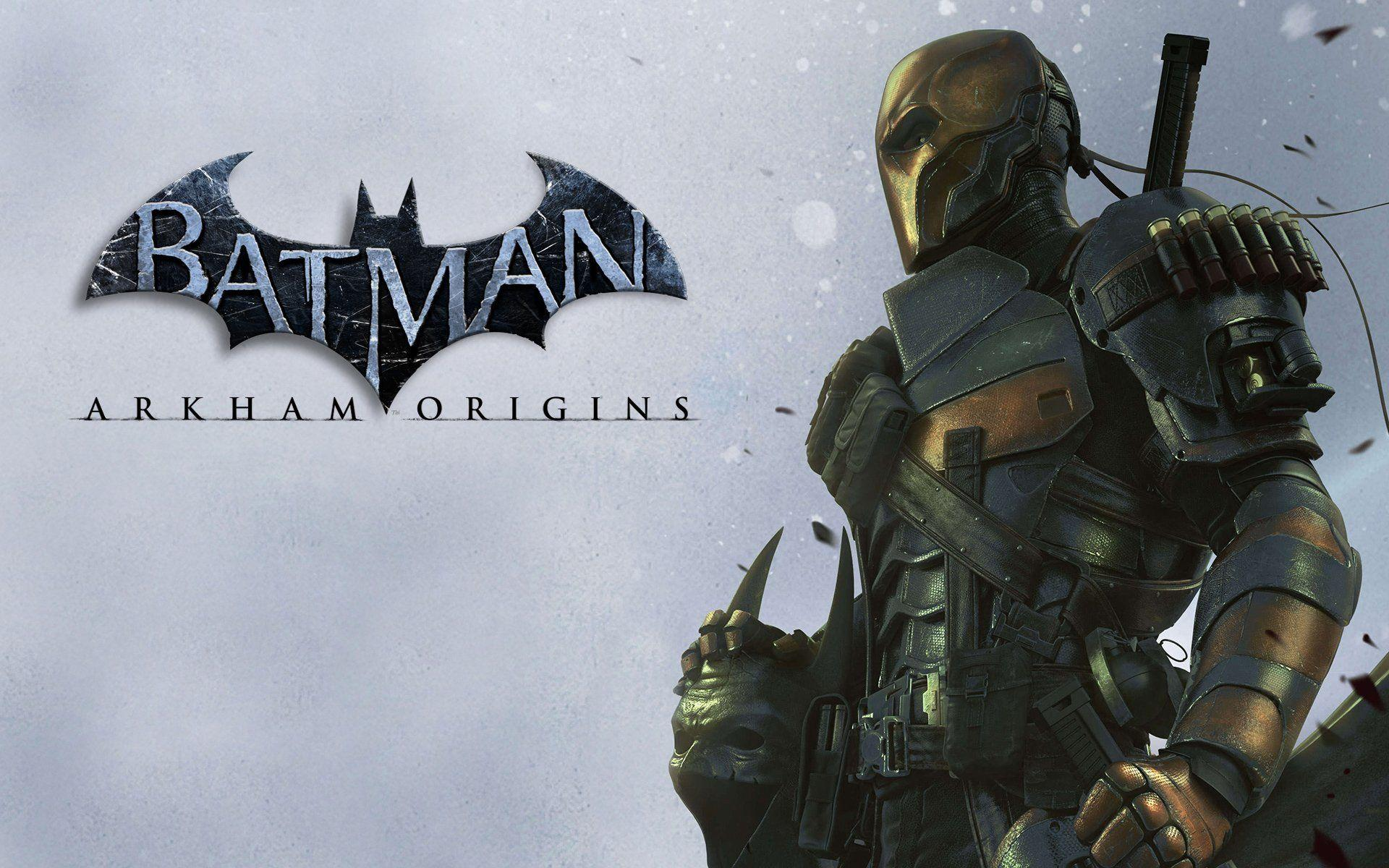 Batman Arkham Origins Chronicles Deathstroke