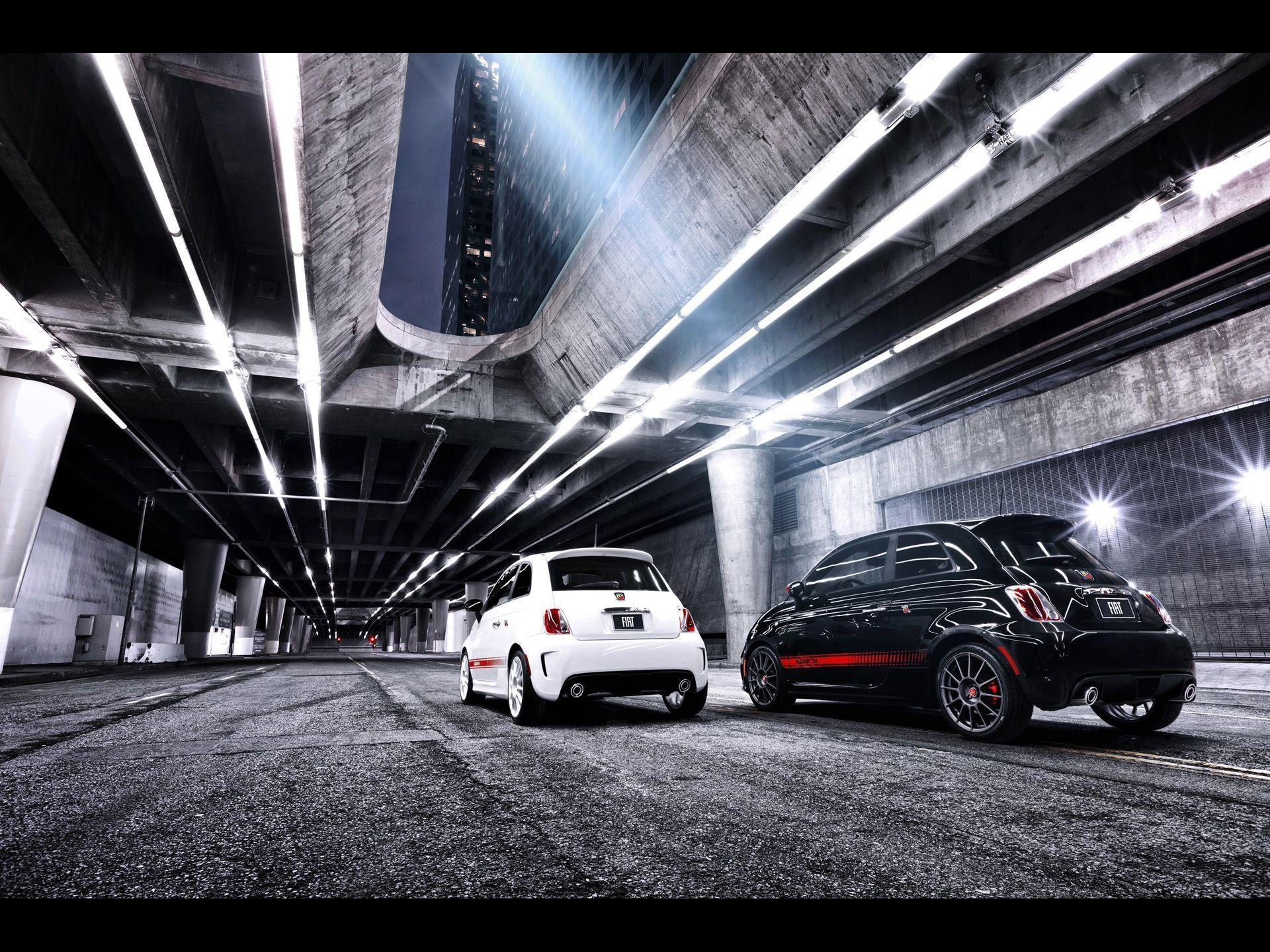 Fiat 500 Abarth Duo Rear wallpapers | Fiat 500 Abarth Duo Rear stock ...