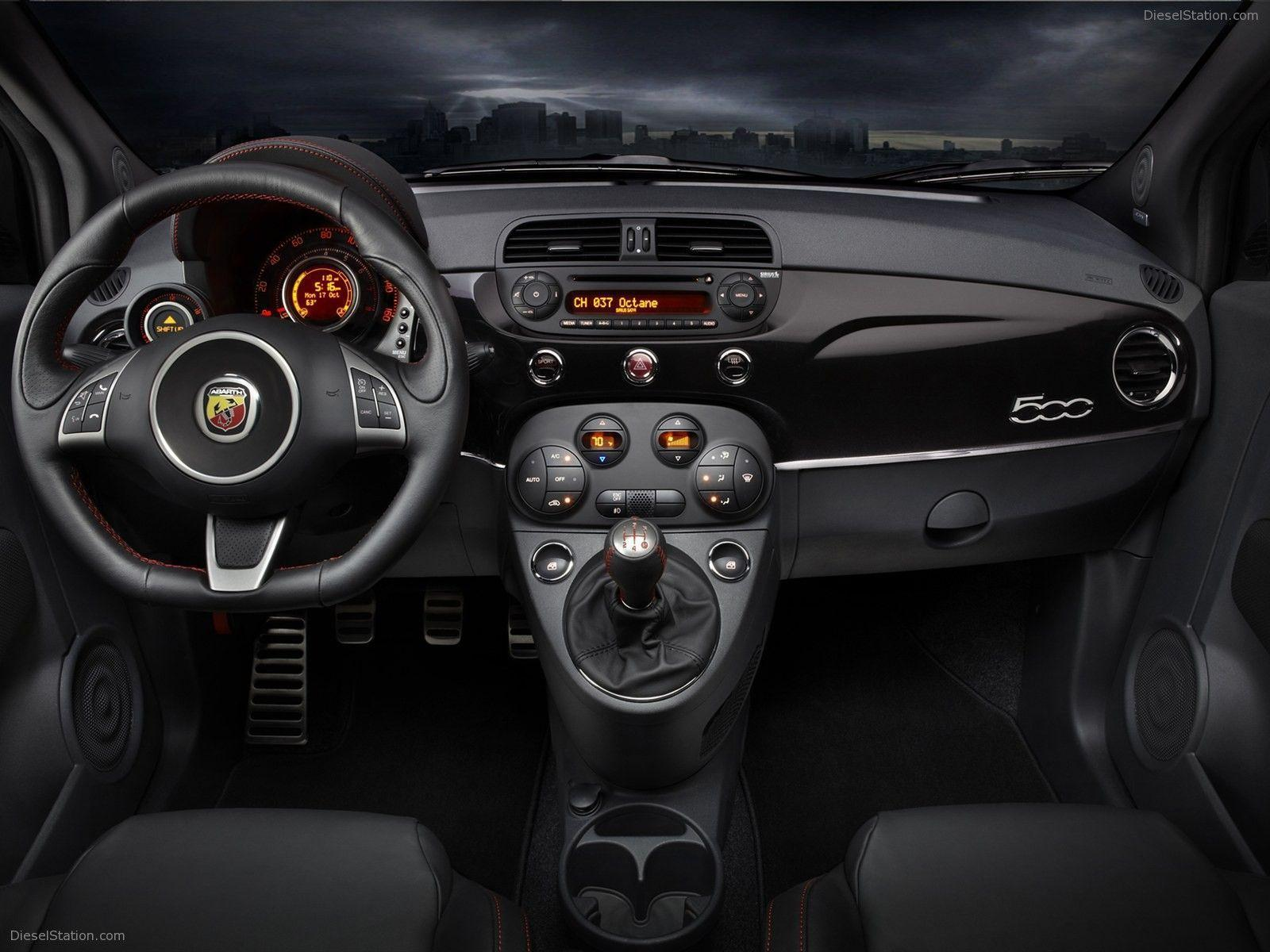 Fiat 500 Abarth 2012 Exotic Car Wallpapers #02 of 58 : Diesel Station