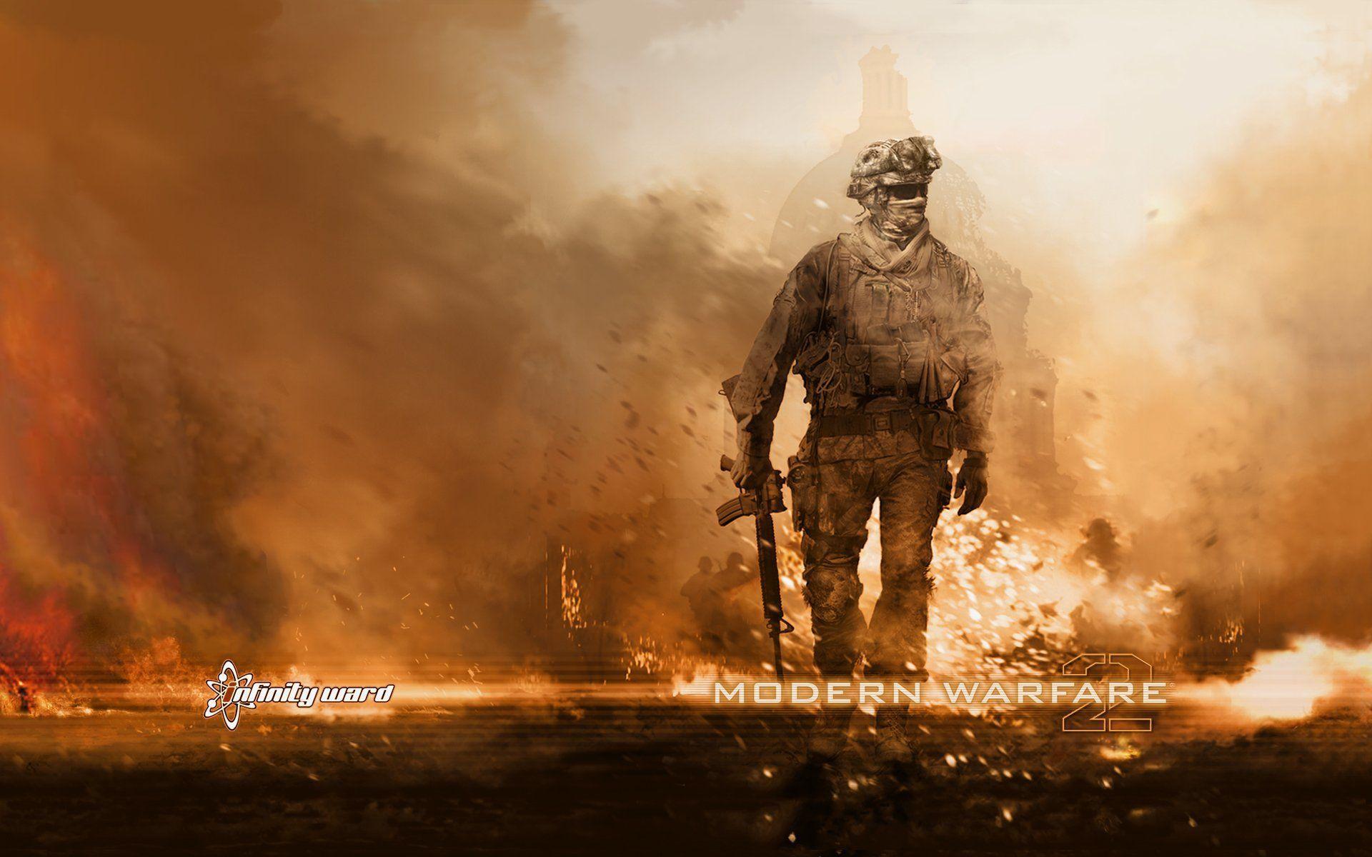 Call Of Duty Modern Warfare 2 Wallpapers Wallpaper Cave