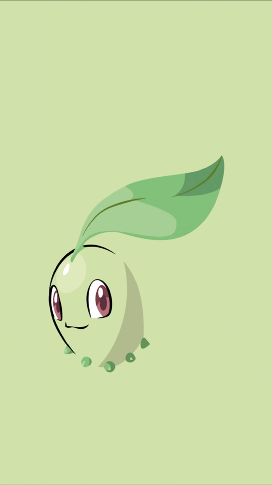 Download Chikorita 1080 x 1920 Wallpapers - 4676588 - POKEMON ...