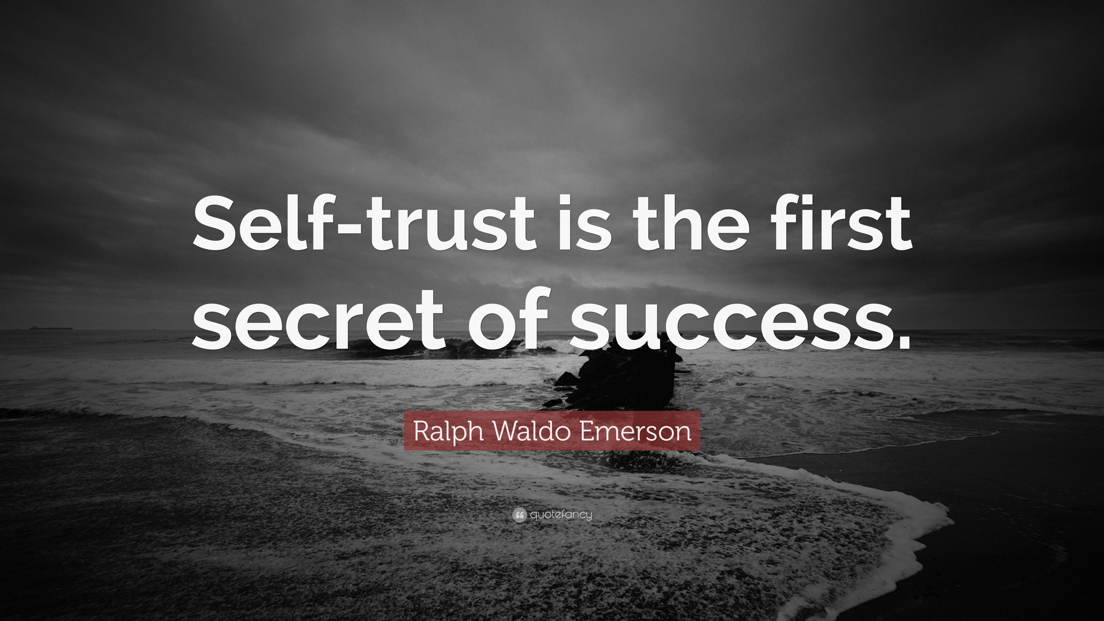 "Ralph Waldo Emerson Quote: ""Self"