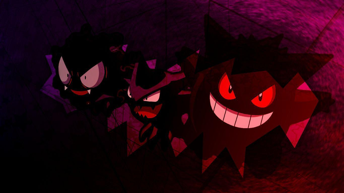 Gastly, Haunter, and Gengar images Gastly, Haunter, and Gengar HD ...