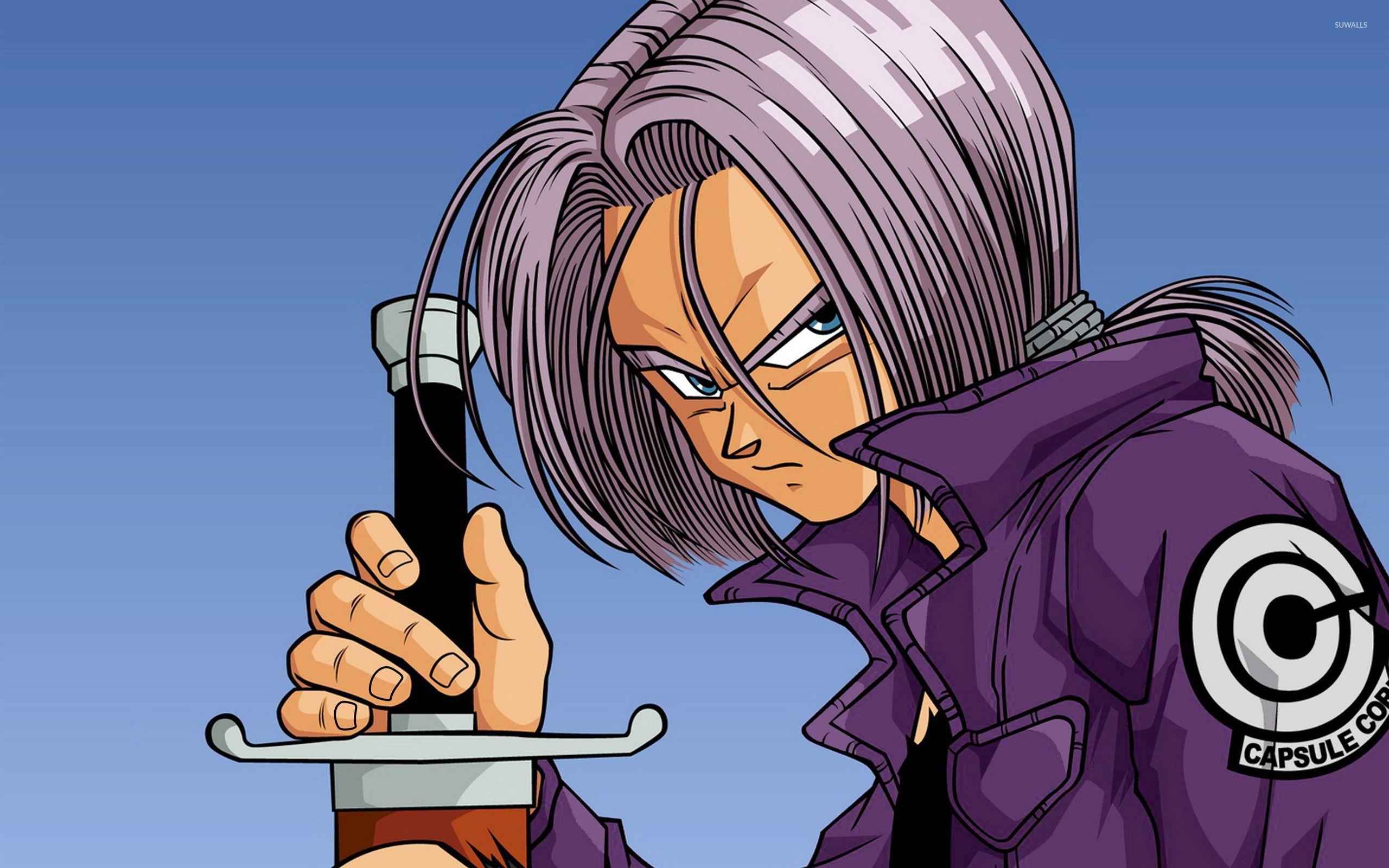 Future Trunks Wallpapers Wallpaper Cave