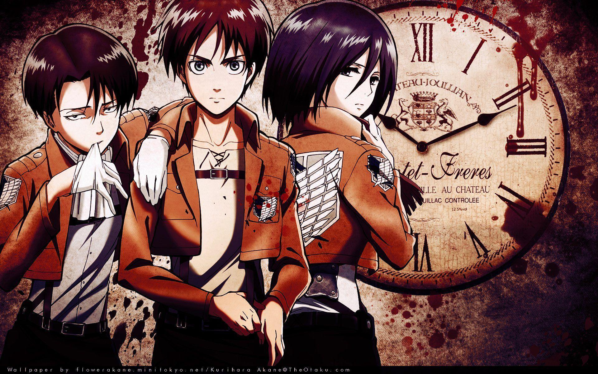 Eren Yeager And Mikasa Ackerman Wallpapers Wallpaper Cave