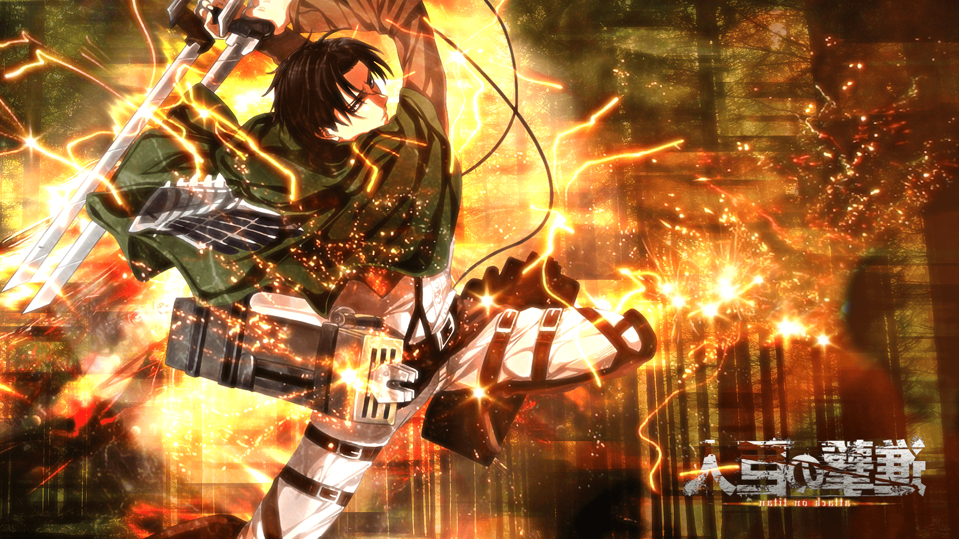 Shingeki No Kyojin Levi Ackerman Anime Wallpapers HD Desktop