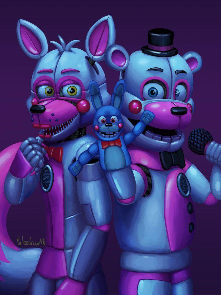 Five Nights At Freddy S Sister Location Wallpapers Wallpaper Cave