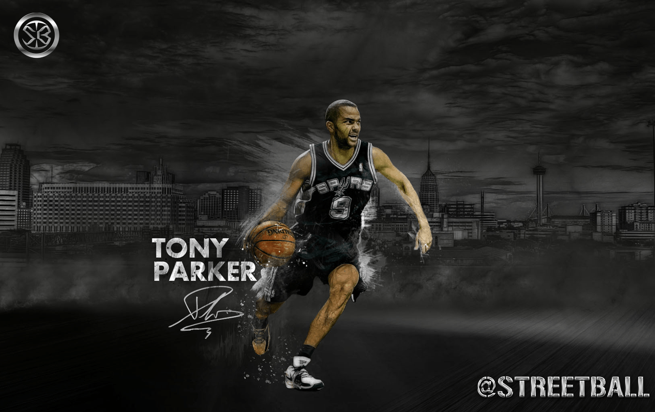 Tony Parker - wallpaper.