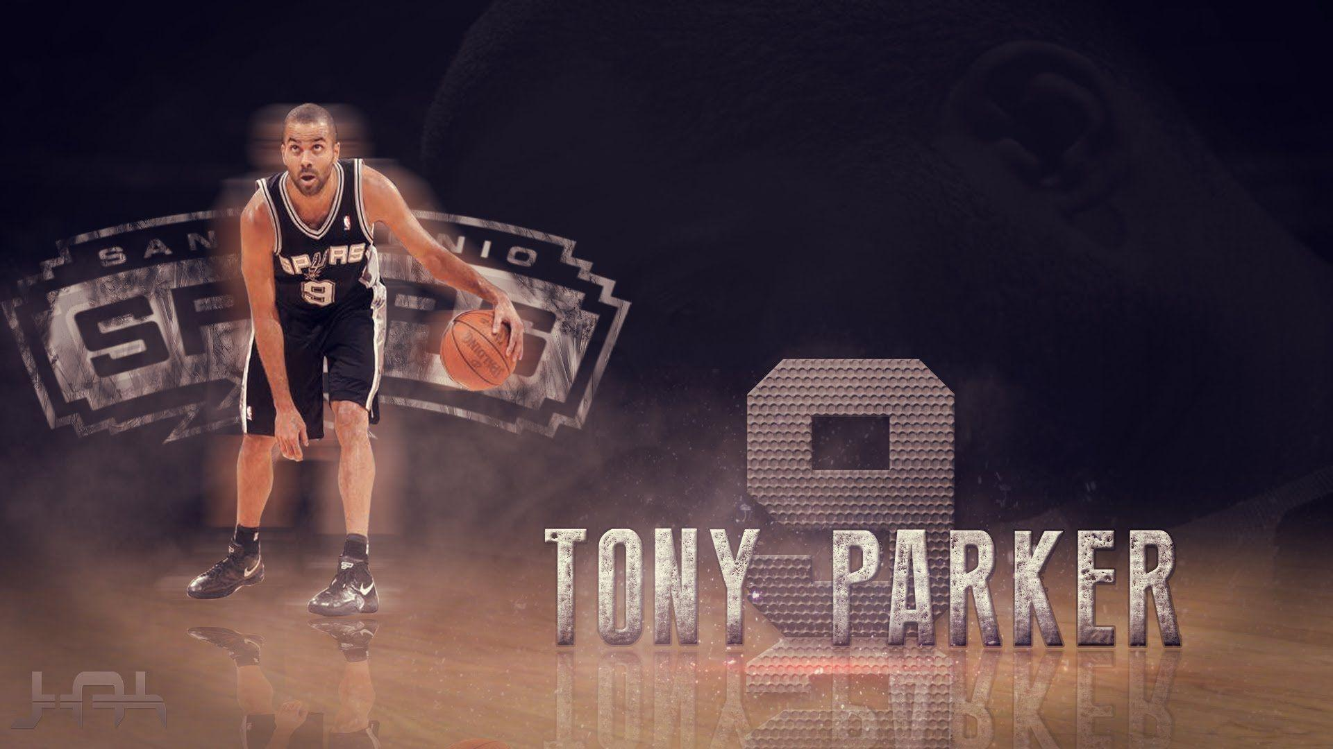 Photoshop NBA Tony Parker SpeedArt - YouTube