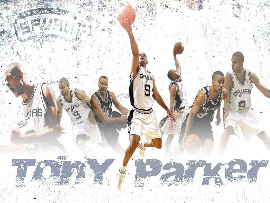 San Antonio Spurs Fans Wallpapers Tony Parker lay up - San Antonio ...