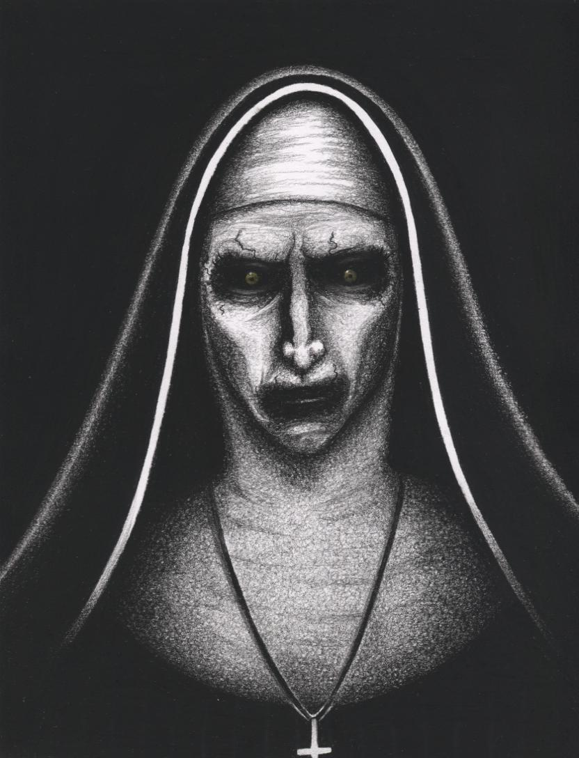 The Nun Wallpapers Wallpaper Cave