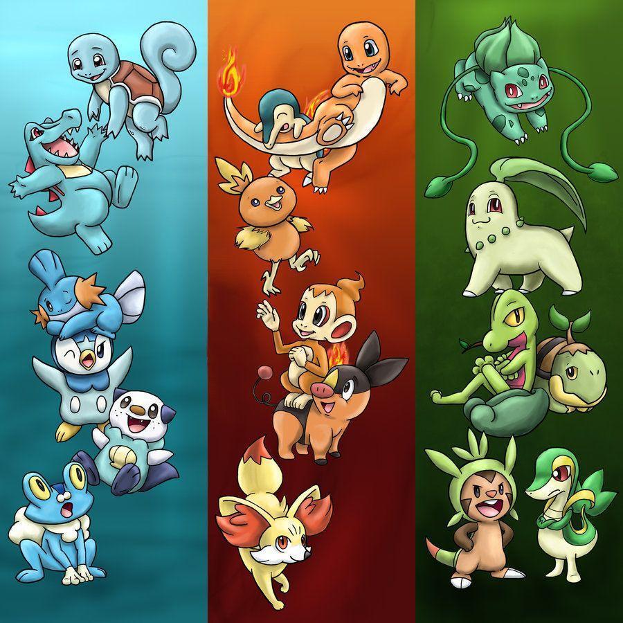 Starter Pokemon Wallpapers (71+ images) |Starter Pokemon Phone Wallpaper