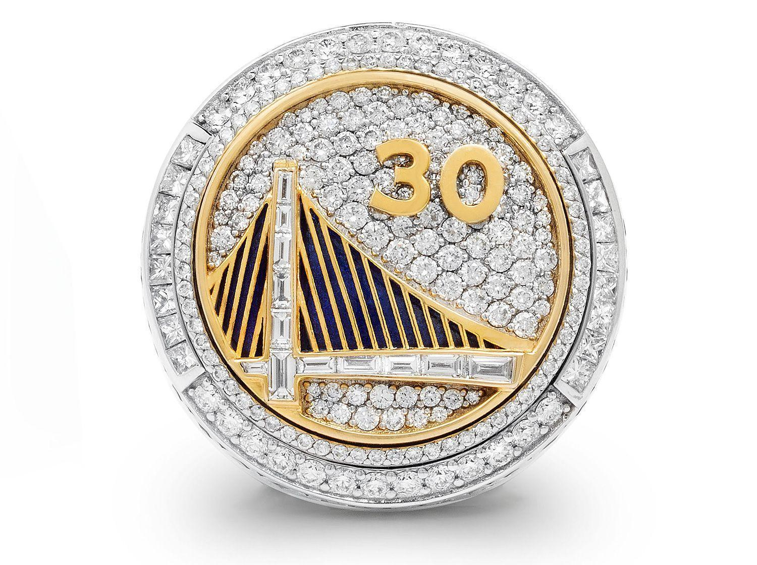 Warriors Championship Rings