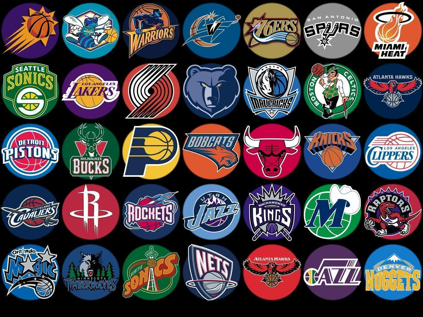 nba team logo wallpapers hd free | BAPTISMAL | Pinterest | Logos ...