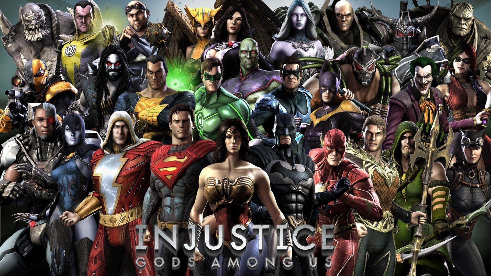 Injustice Gods Among Us Wallpapers Wallpaper Cave