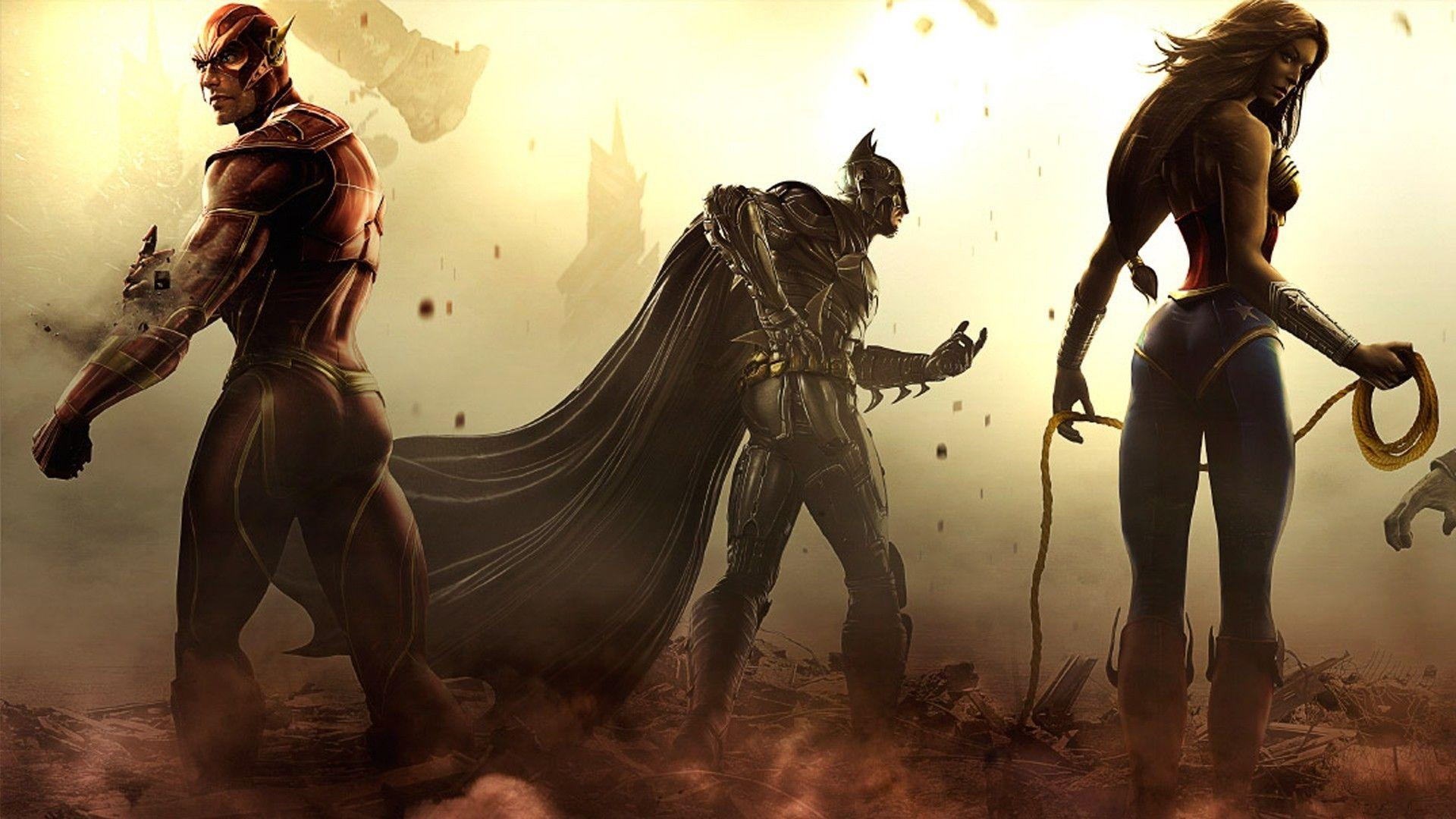 Injustice: Gods Among Us Wallpapers - Wallpaper Cave
