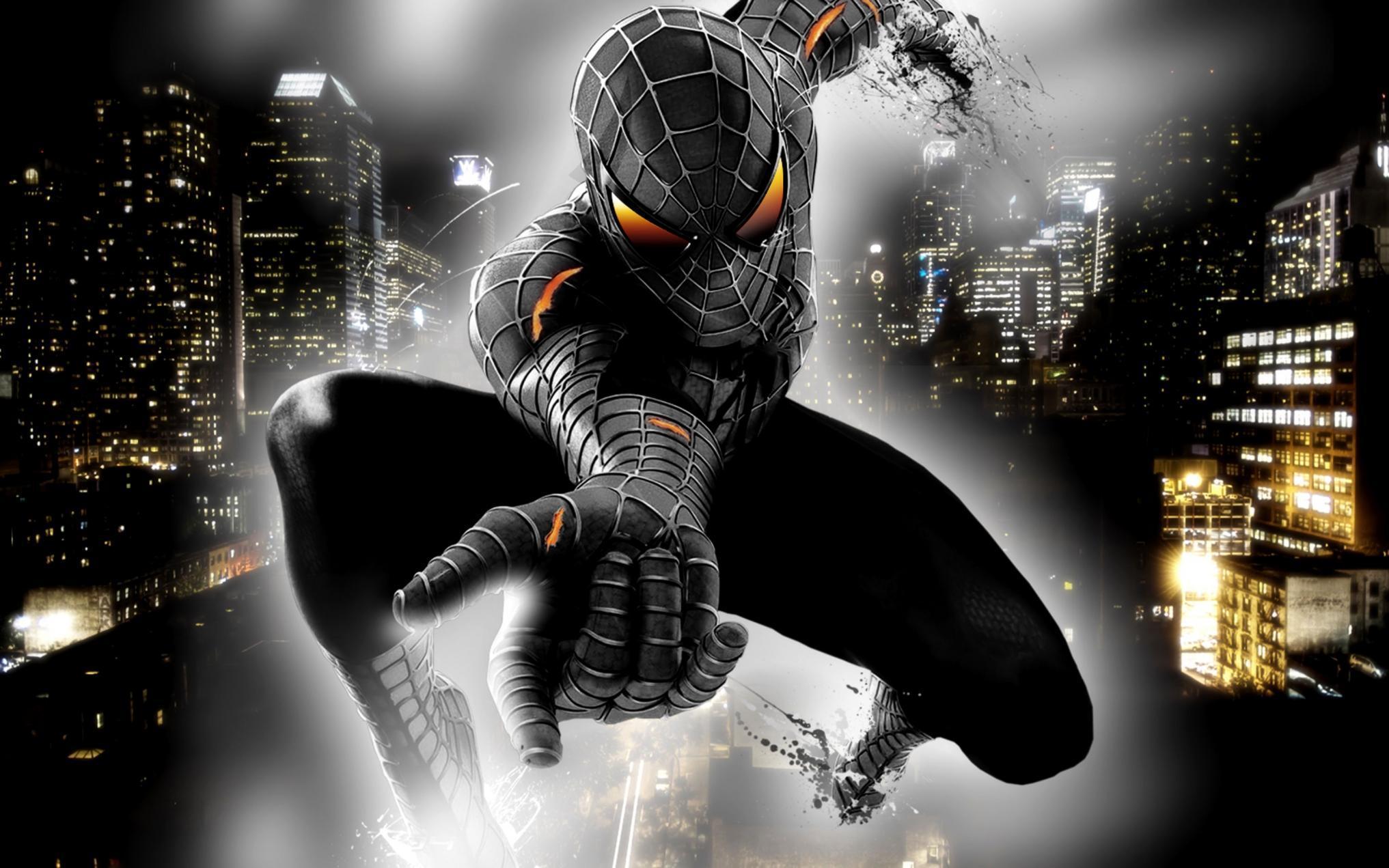 Black Spider Man Wallpapers - Wallpaper Cave