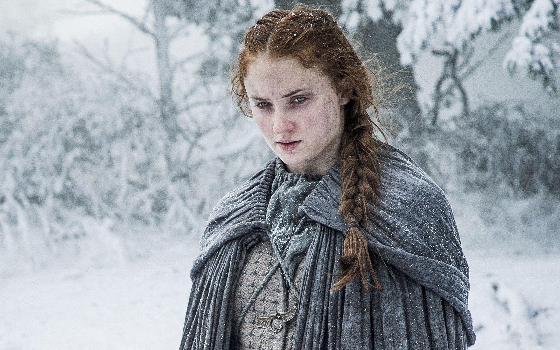 Sophie Turner Sansa Stark Game Of Thrones Season 6 Wallpapers