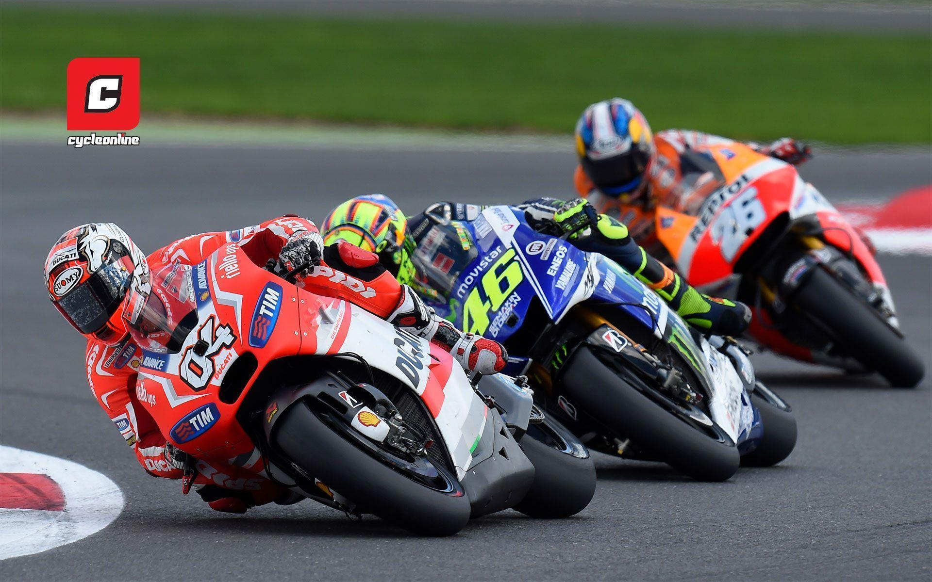 Wednesday Wallpaper: Dovizioso, Rossi and Pedrosa