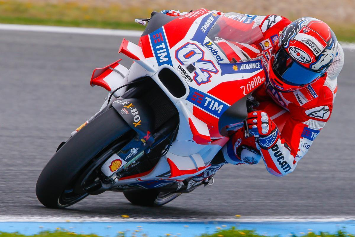 Andrea Dovizioso confirmed with Ducati for 2017 and 2018