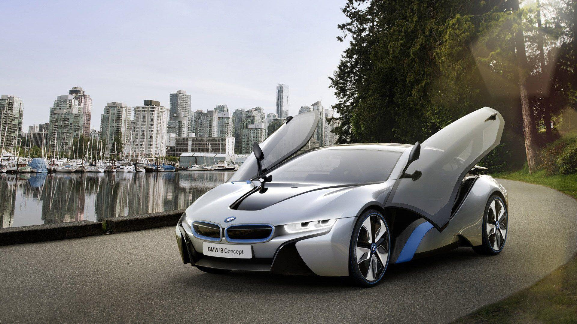 BMW i8 Hybrid Supercar Wallpapers for Desktop 1920x1080 Wallpapers