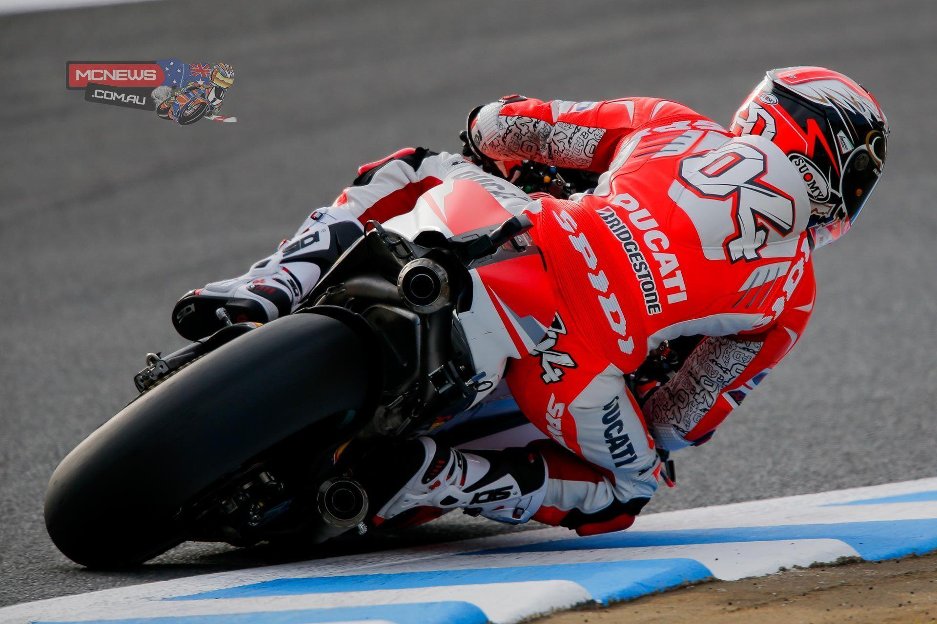 Dovizioso tops Motegi MotoGP day one