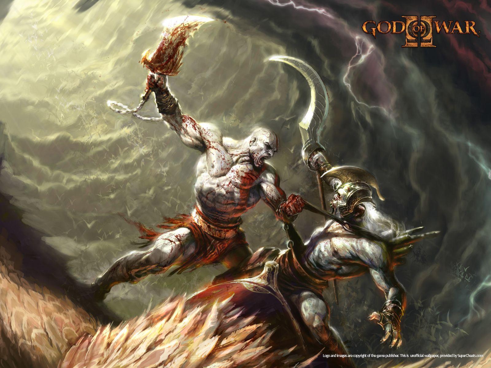 God Of War Ii Wallpapers Wallpaper Cave