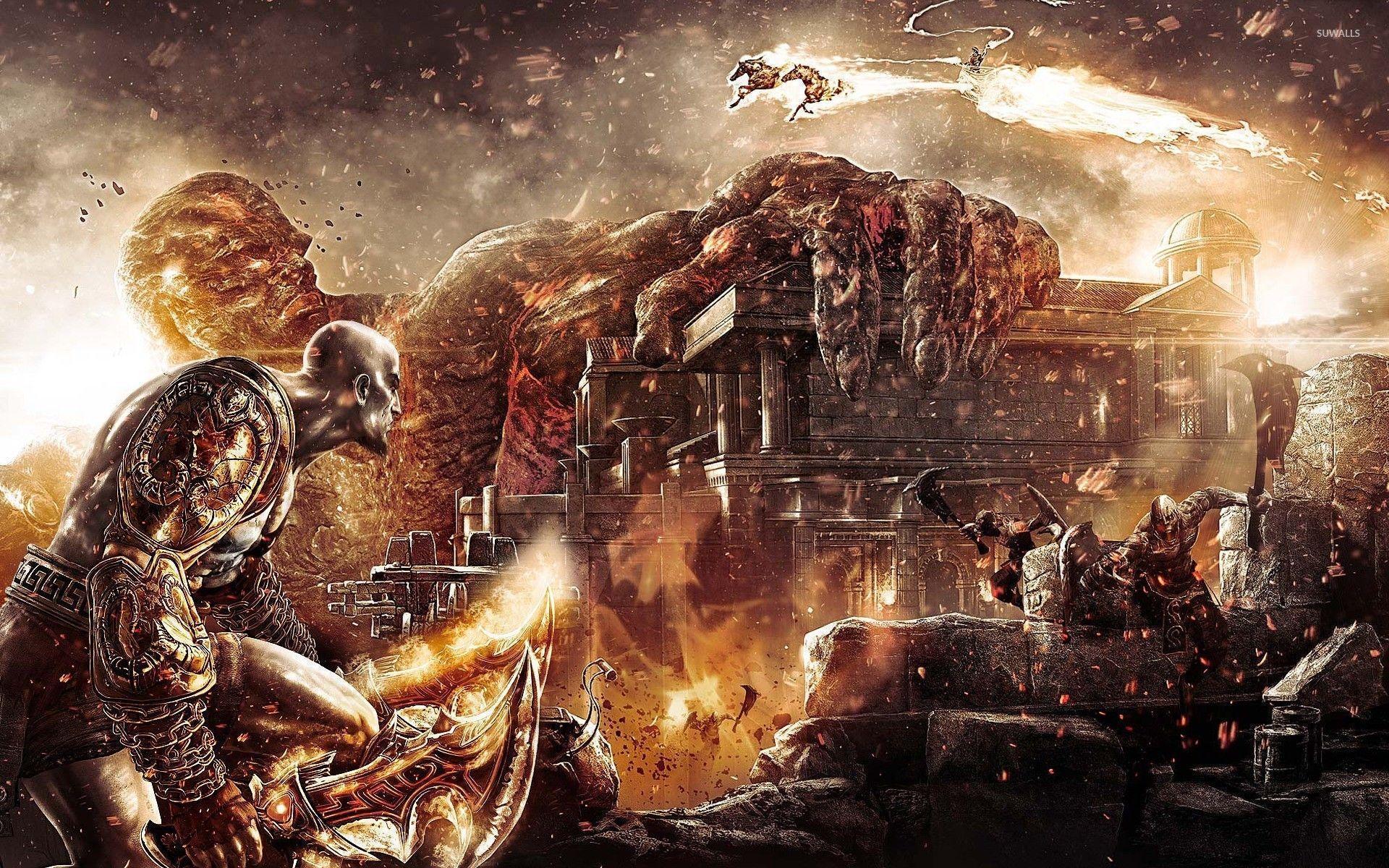 God Of War II Wallpapers - Wallpaper Cave