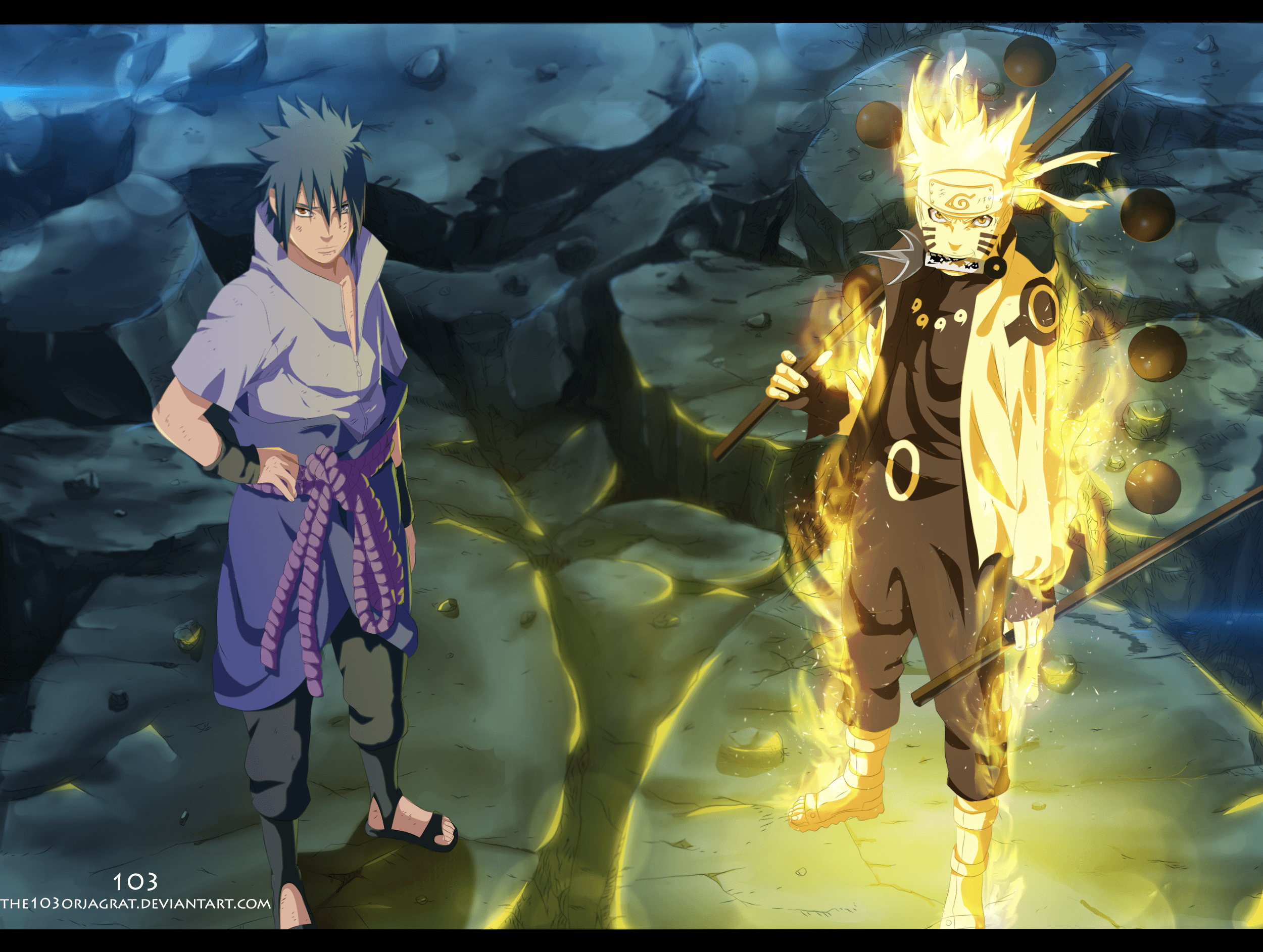 Naruto And Sasuke Vs Madara Wallpapers Wallpaper Cave