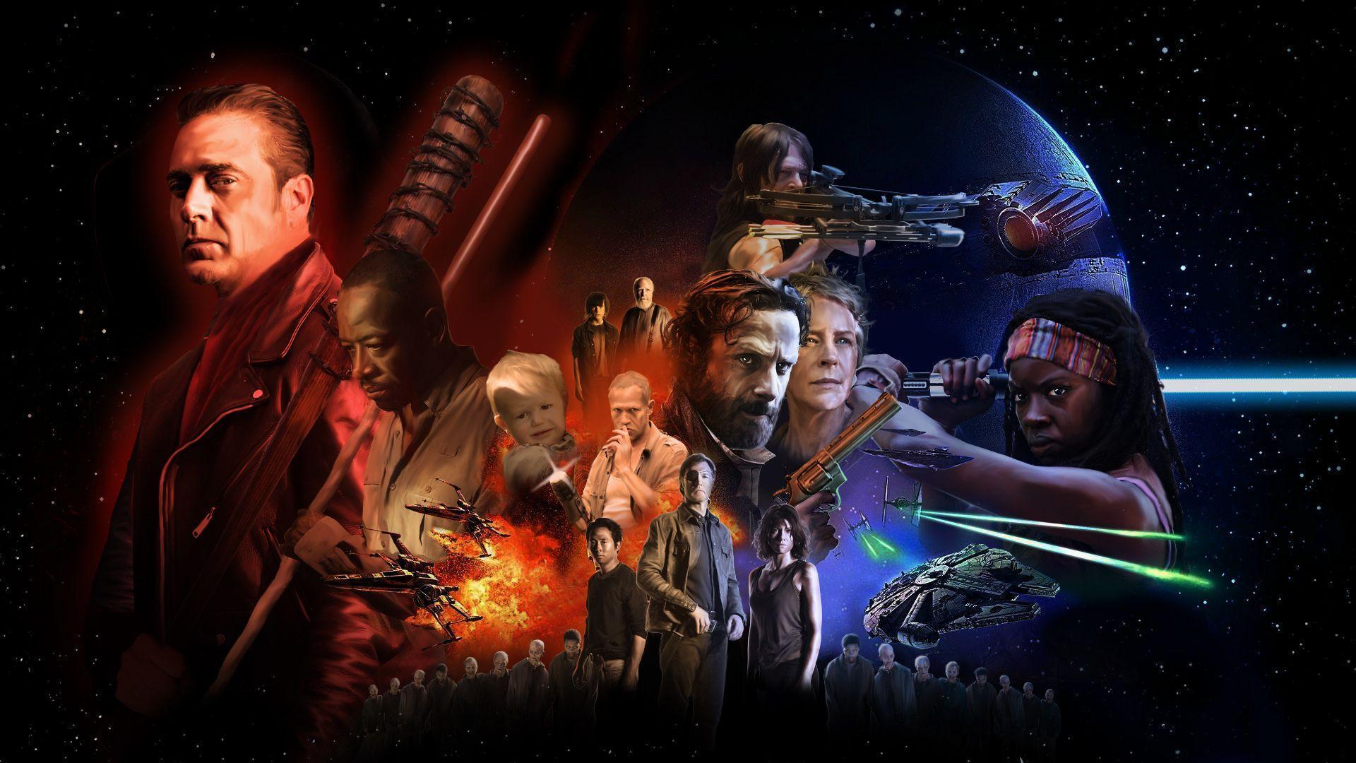 The Walking Dead Negan Wallpaper: The Walking Dead 7 Wallpapers